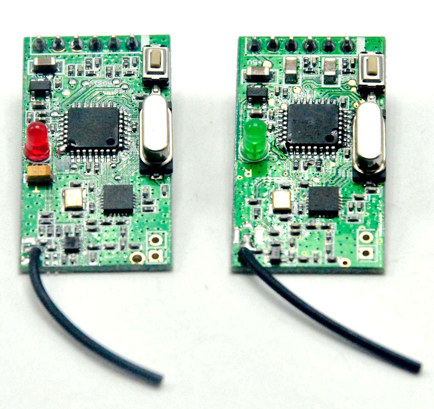 2.4G NRF24L01 Wireless Digital Audio Transceiver Module Wifi Speaker Module (1 Piece Transmitter & 1 Piece Receiver)