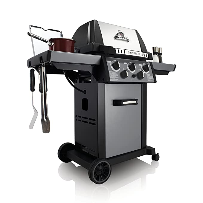 Amazon.com : Broil King 931284 Monarch 390 Liquid Propane Gas Grill : Garden & Outdoor