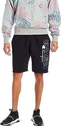 Block Logo Shorts Champion Mens Reverse Weave Cut Off Shorts