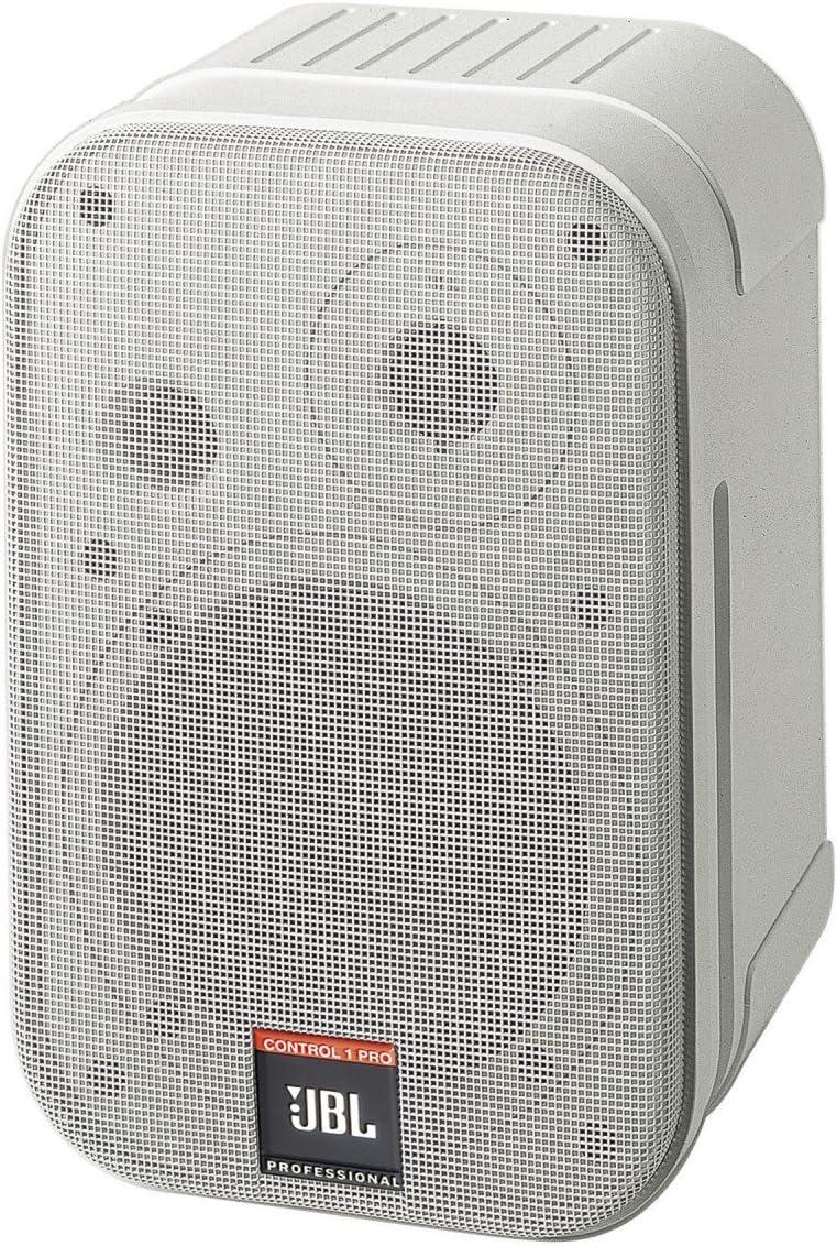 Jbl Control 1 Pro Nahfeldmonitor Mit Halter Weiß 1 Stück Musikinstrumente