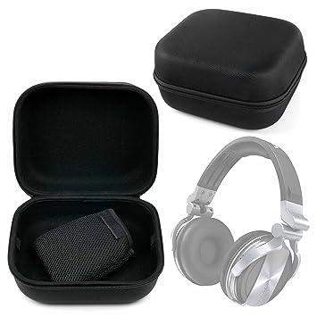 Estuche Rígido Negro Para Auriculares Pioneer HDJ-1500 , HDJ-2000MK2 , HDJ-