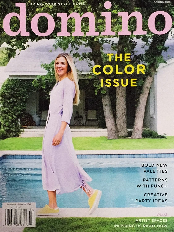 DOMINO MAGAZINE COLOR ISSUE SPRING 2018 ^ s3457