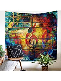 bedroom tapestry. Music  Tapestries Amazon com