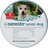 Seresto Flea Tick Bayer Collar Small Dogs UNDER 18LBS (15.5 in)
