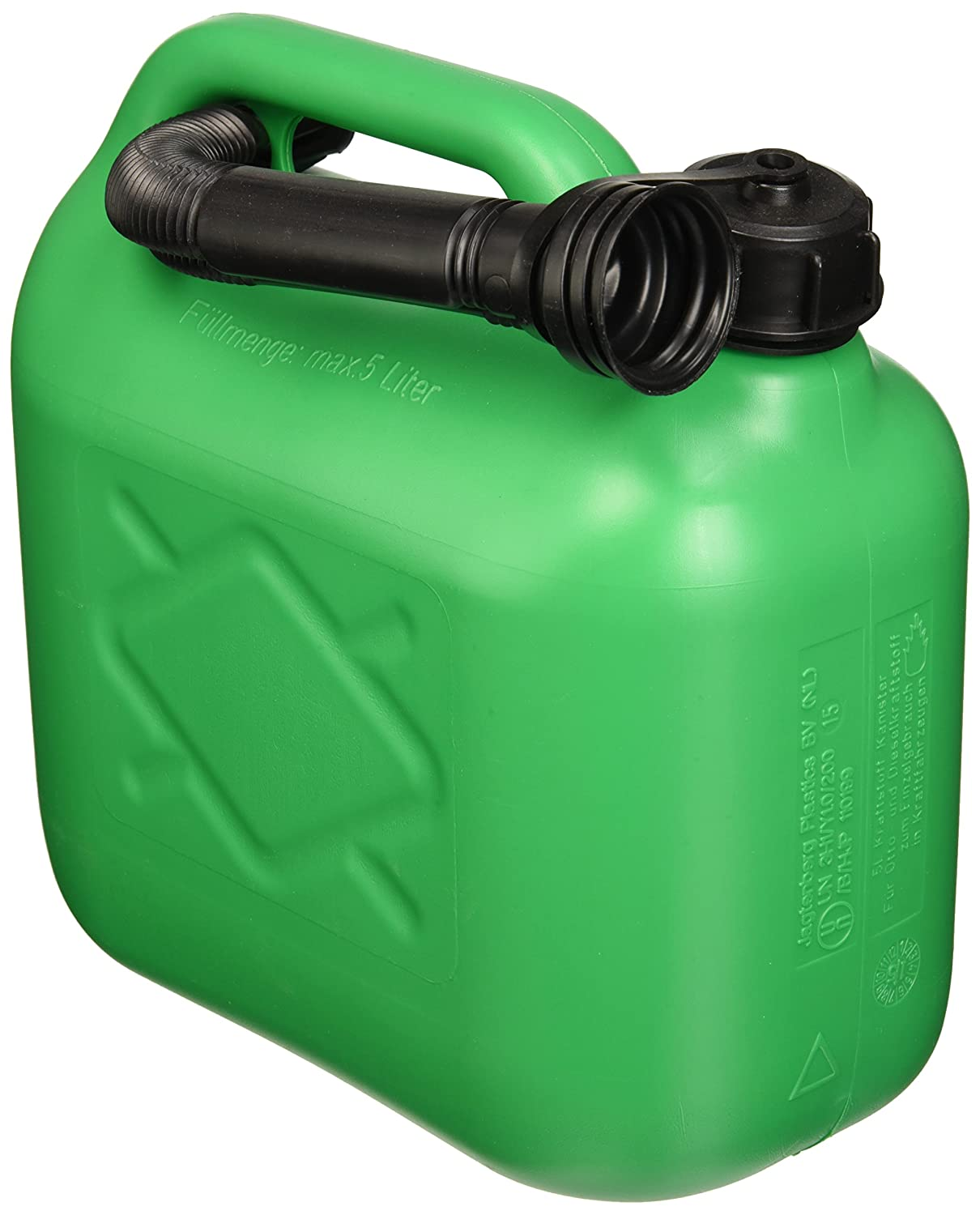 All Ride Fuel Jerry Can 5 Litre Green (Unleaded) 871125200937