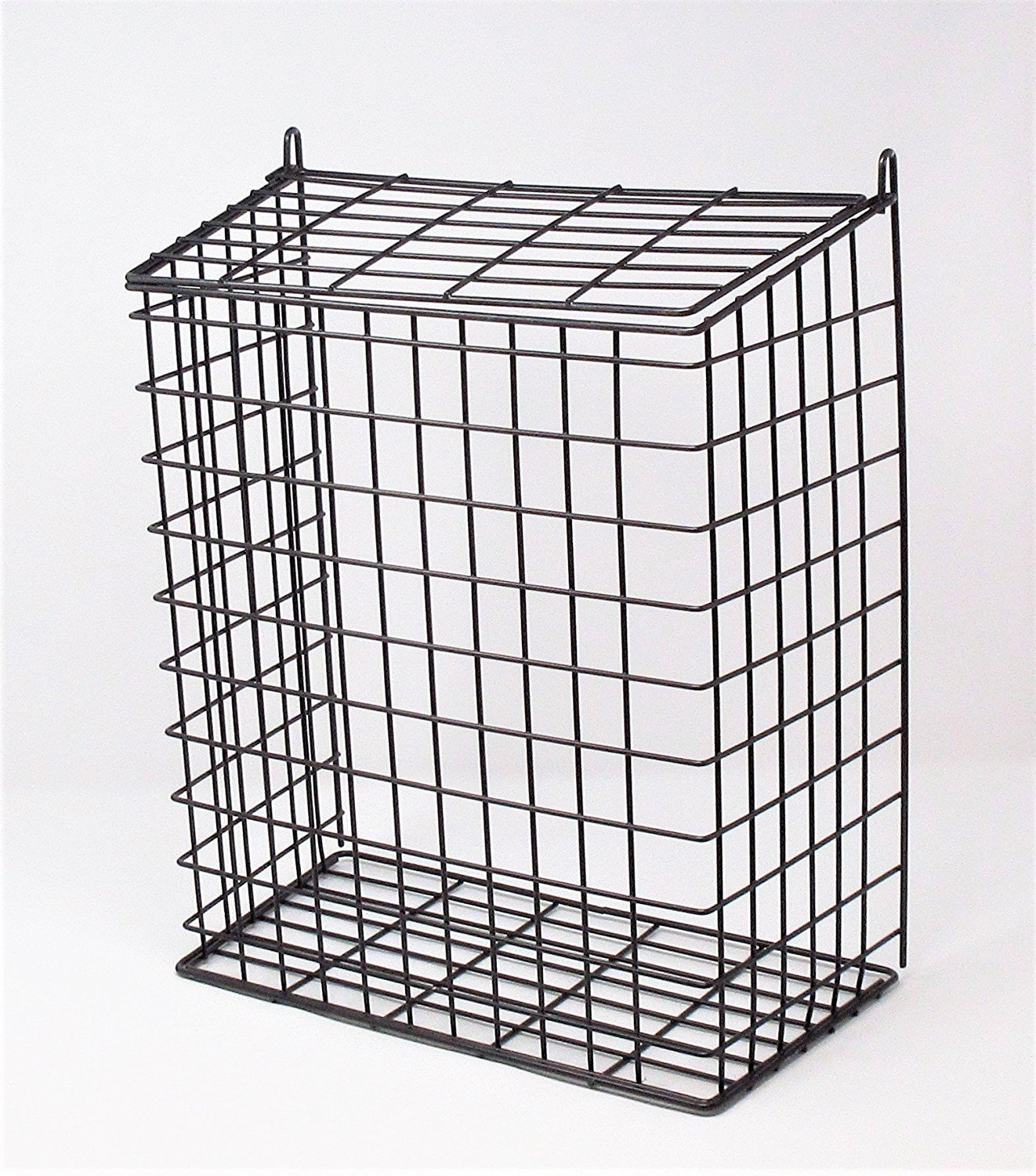 DWD (TM) Large Black Letter Box Door Cage Guard DWD ®
