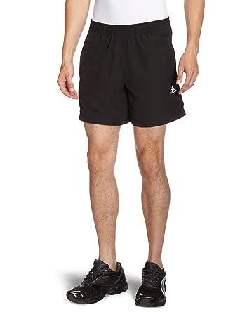 Adidas - Pantalones cortos de running para hombre, tamaño XS, color negro