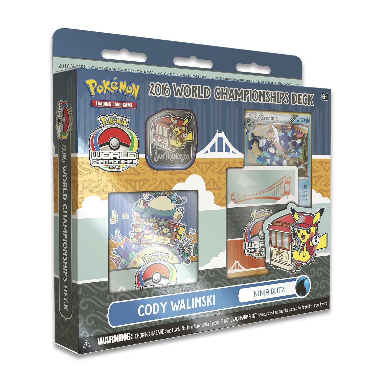 Pokemon TCG: 2016 World Championships Deck-Feat. Cody Walinskis Ninja Blitz 60-Card Champion Deck!