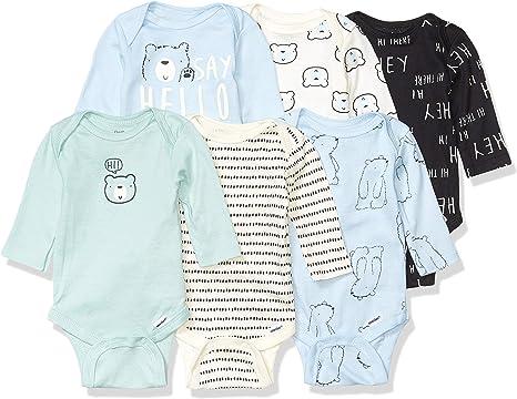 Short or Long Sleeve 3-6 Gerber 5-Pack Onesies Girl or Boy 6-9 — Choose 0-3