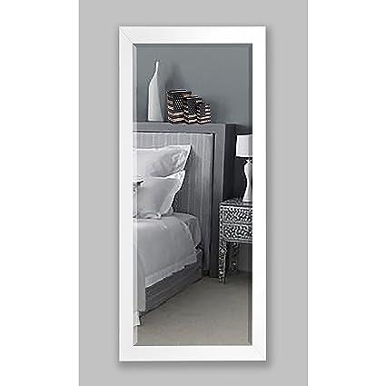 Amazon.com: Rayne Mirrors American Made Rayne 30.5 x 71-inch White ...
