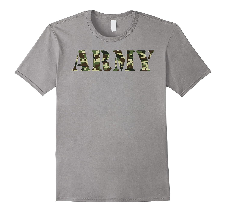 Army Soldier Shirt Digital Camo Jungle Pattern Shirt-ANZ