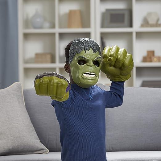 Marvel B9973EU4 Thor Ragnarok Hulk Figura De Máscara fuera