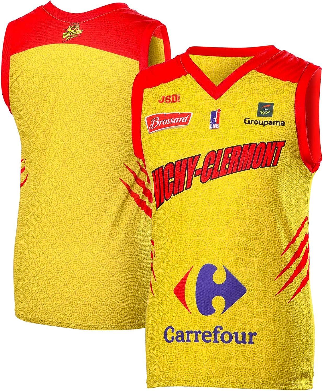 Vichy-Clermont - Camiseta de Baloncesto (Temporada 2018-2019), diseño de Vichy-Clermont: Amazon.es: Ropa y accesorios