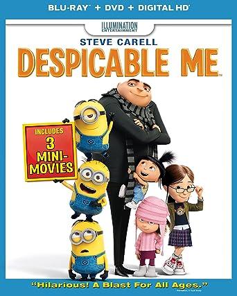Amazon Com Despicable Me Blu Ray Steve Carell Jason Segel