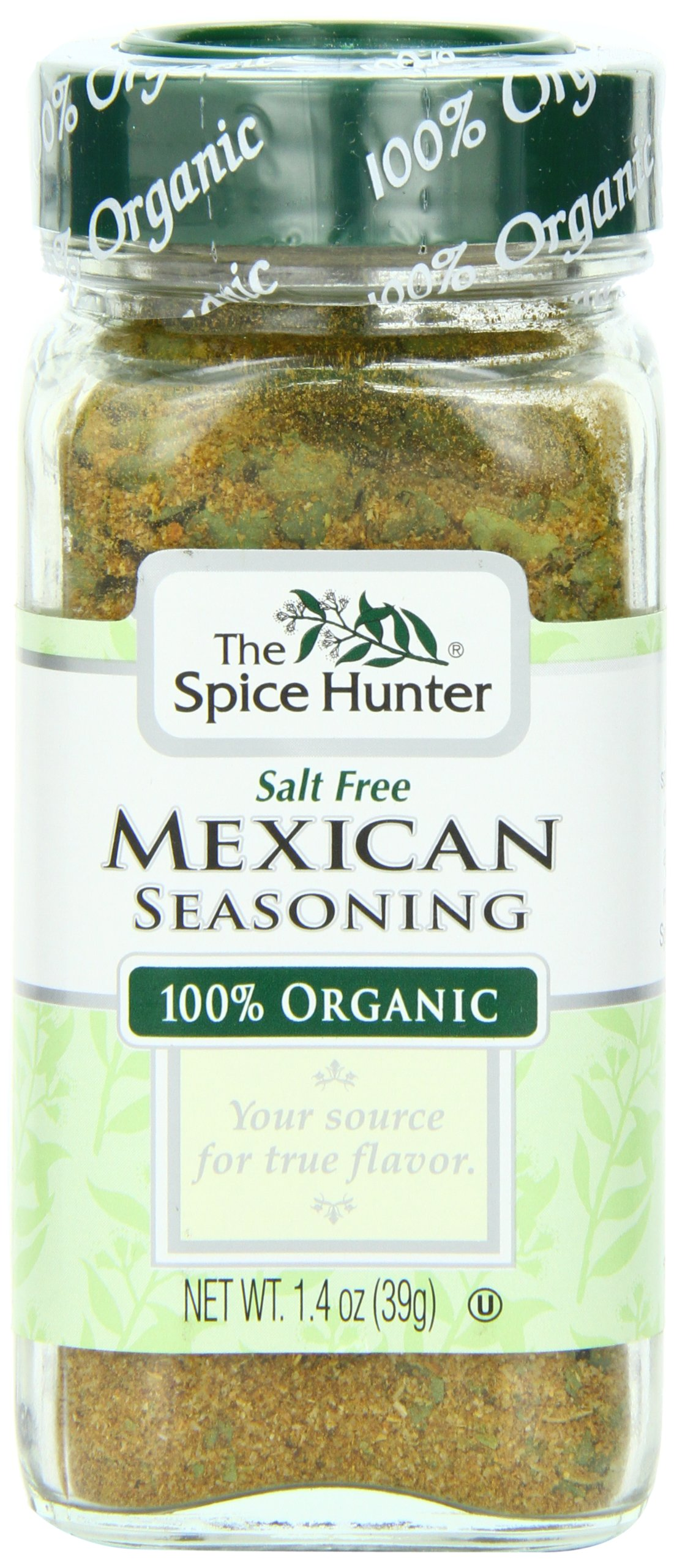 The Spice Hunter Mexican Seasoning, Organic, 1.4-Ounce Jar