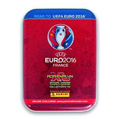 Adrenalyn XL Road to Euro 2016 France Collector's Tin