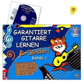 Roschauer Gitarrenschule Lehrbuch Garantiert Gitarre lernen für Kinder 1 CD