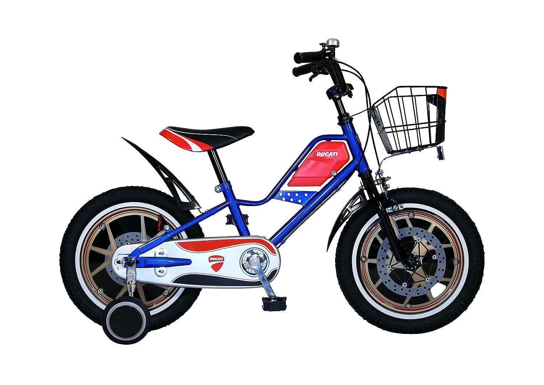 DUCATI(ドゥカティ) キッズバイク TDK163 ブルー   B01LPFKES6
