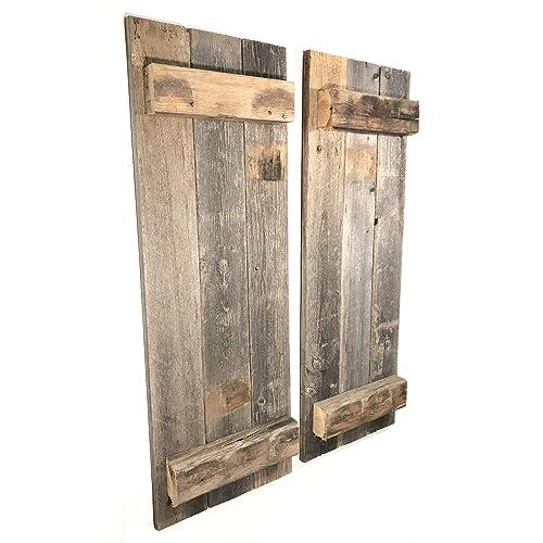 Indoor window shutters - Decorative interior wall shutters ...