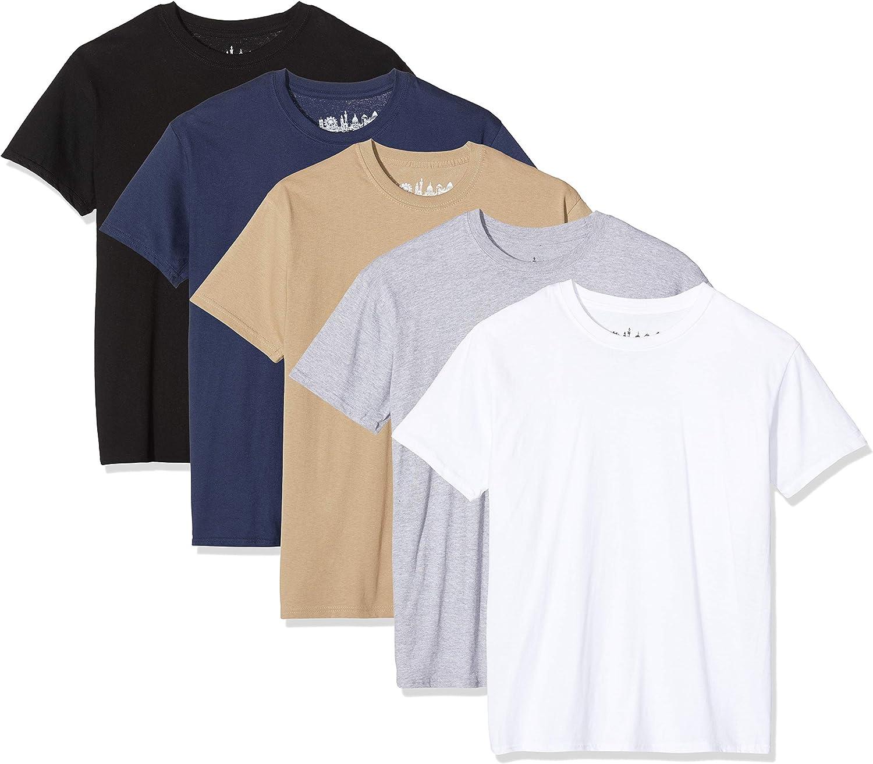 FM London Paquete de 5 camisetas Hombre con tecnología de protección de olores HyFresh