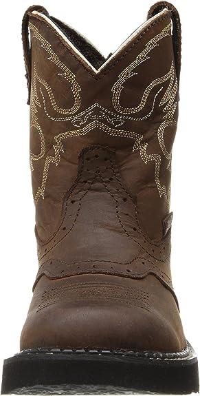 Justin Girls Gypsy Pink Apache Bay Round Toe Western Boots NEW Sz 2.5 or 3 9901Y