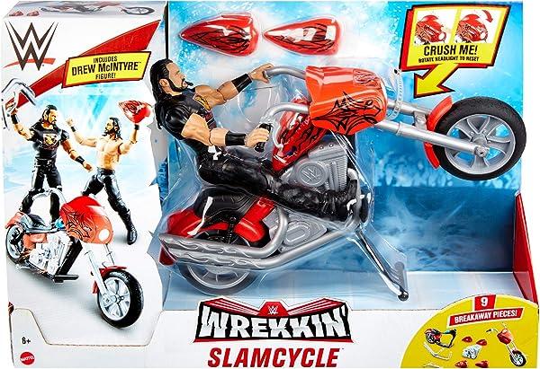 WWE Wrekkin' Slamcycle action figure playset in package