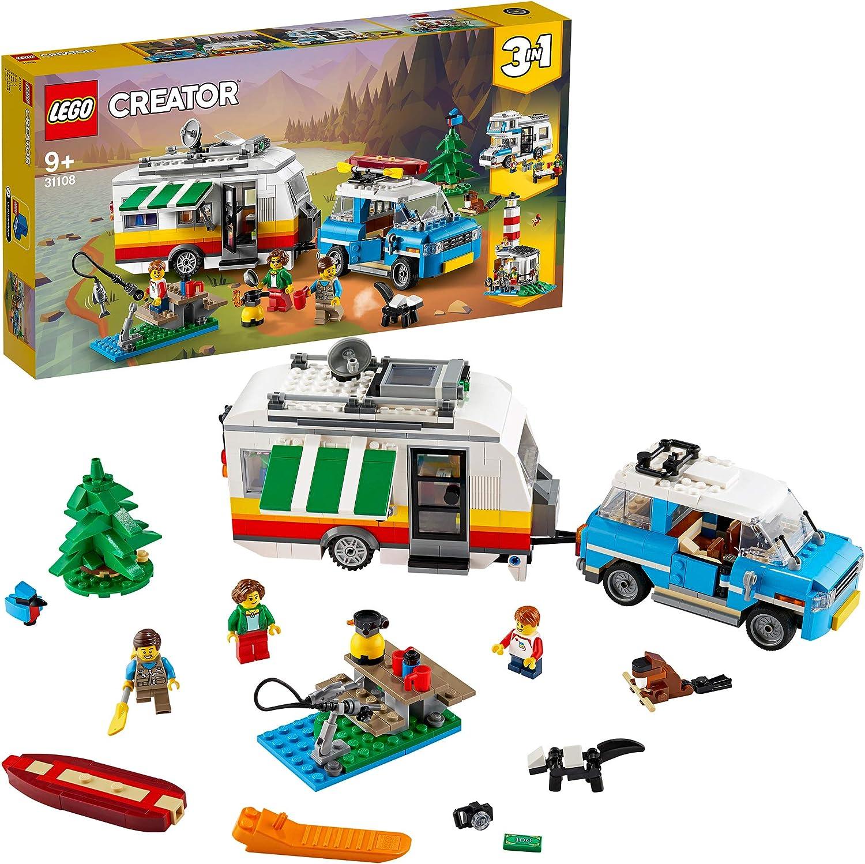 レゴ(LEGO) クリエイター ホリデーキャンプワゴン 31108