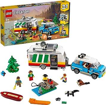 remove Unmanned pen  LEGO Creator 3 in 1 Set Vacanze in Roulotte con automobile, camper, faro,  Giocattolo da costruzione per l'estate, 31108: Amazon.it: Giochi e  giocattoli