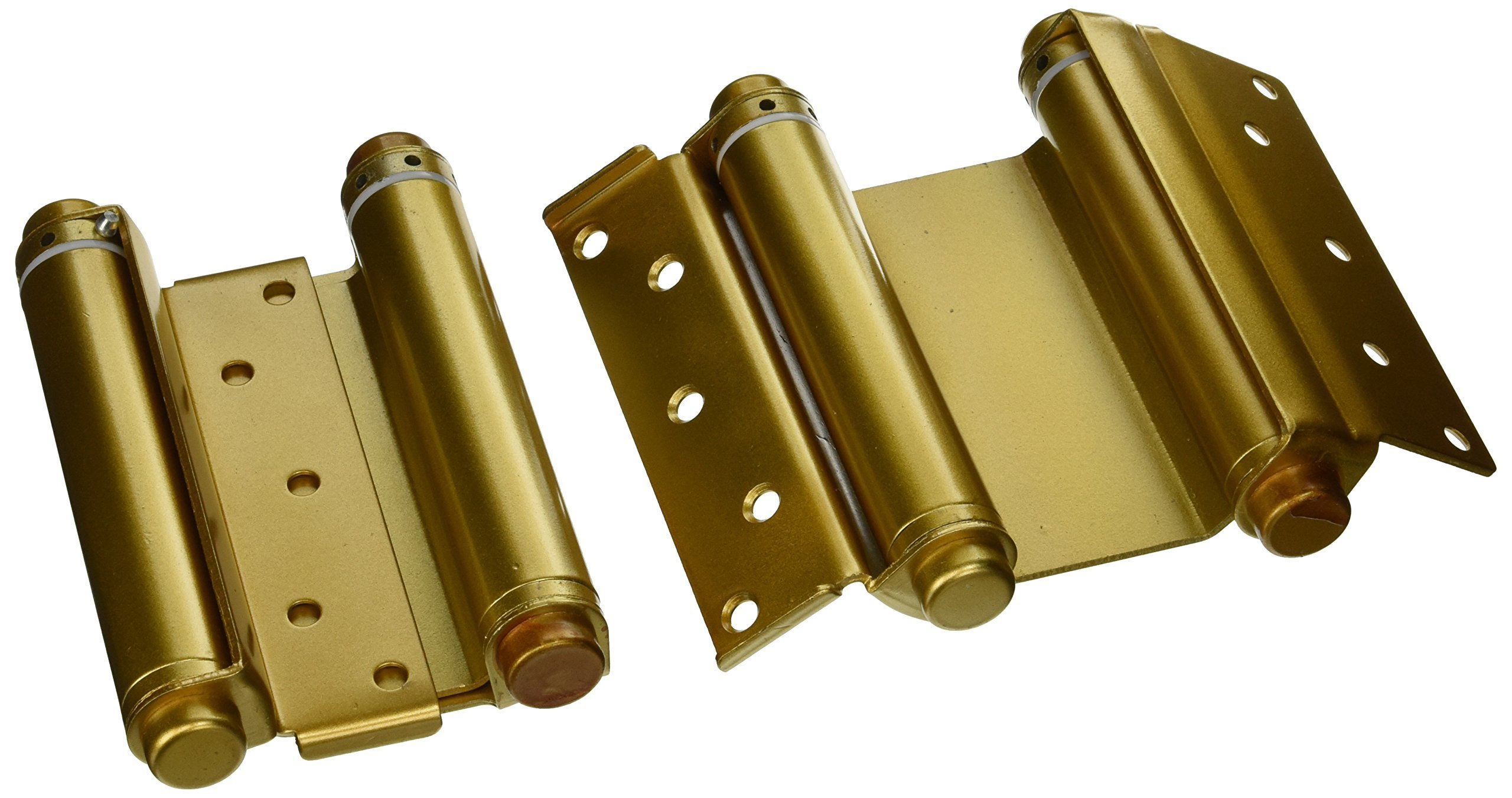Ultra Hardware 6'' Heavy Duty Brass Double Action Spring Hinges for Door (Set of 2) by Ultra Hardware
