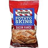 TGI Fridays Potato Skins Snack Chips- 5.5 oz. Bags (Bacon Ranch, 4 Bags)