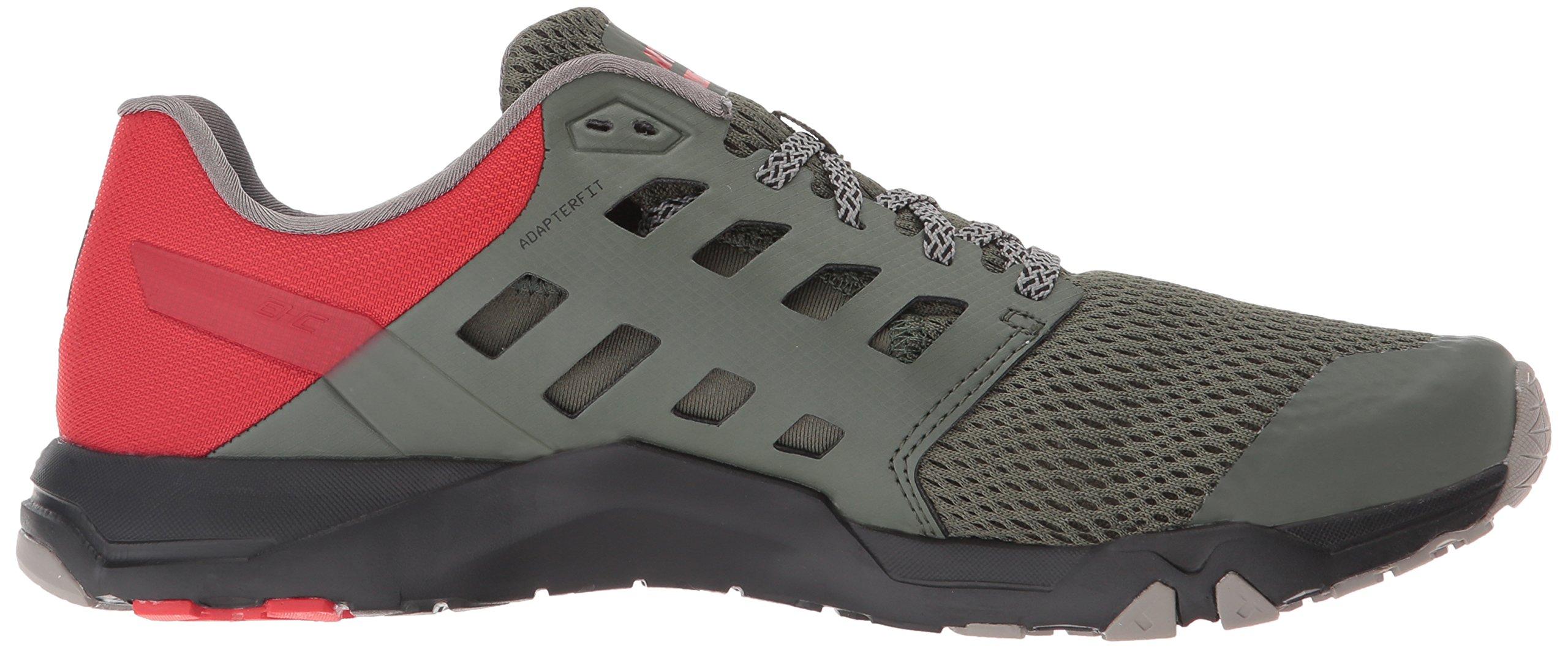 Inov-8 Men's All Train 215 Cross-Trainer Shoe, Dark Green/Red/Black, 12 D US by Inov-8 (Image #7)