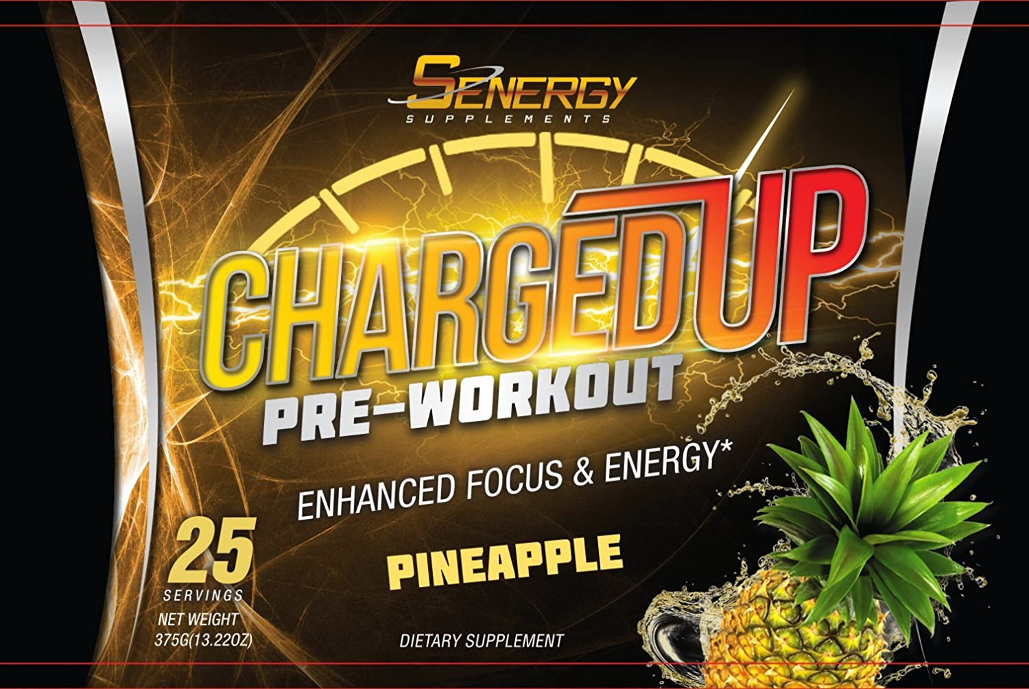 ChargedUP Pre-Workout Supplement