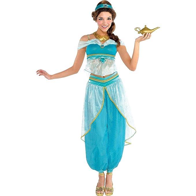 Amazon.com: Ideal para disfraz de jazmín para adultos ...