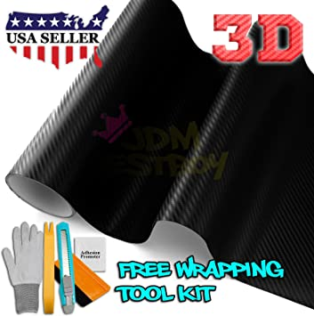 """*60/""""x96/"""" 3D Matte Red Carbon Fiber Textured Car Vinyl Wrap Sticker Decal Film"""