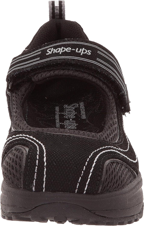 Skechers Shape ups Sleek Fit 11807 BBK Damen Ballerinas on