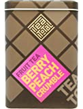 Tea total (ティートータル) / ベリー ピーチ クランブル 100g入り缶タイプ  ニュージーランド産 (フルーツティー / フレーバーティー / ノンカフェイン / ドライフルーツ) [並行輸入品]