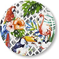 Excelsa Tropical - Plato para pizza, multicolor