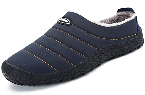 katliu Pantofole Casa Esterno Donna Uomo Scarpe Inverno Calde e Morbide con  Comode Imbottitura Interna f92fc45c00c
