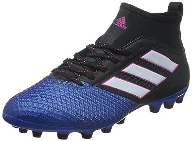 watch 2f055 b882e Adidas Herren Ace 17.3 Primemesh für Fußballtrainingsschuhe, Schwarz  (NegbasFtwblaAzul)