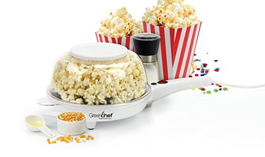 Greenchef Multi Flavour Popcorn Maker Popcorn Makers at amazon