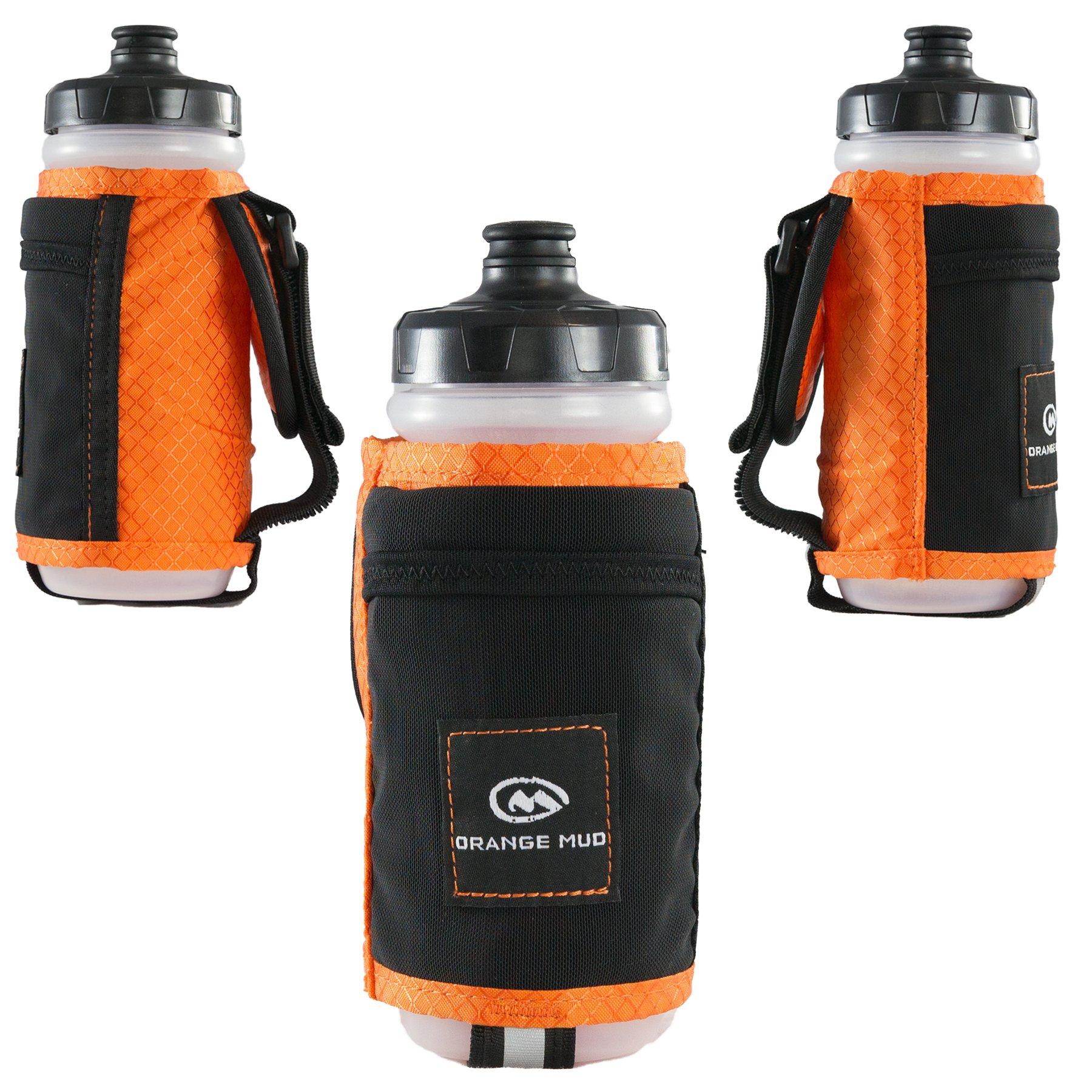 Orange Mud Handheld Bottle Holder - 21oz Orange