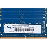 OWC 16GB (2 x 8GB) 2400MHZ DDR4 SO-DIMM PC4-19200 Memory Upgrade for 2017 iMac 27 inch with Retina 5K Display, (OWC2400DDR4S16P)