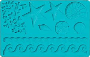 Wilton Silicone Sea Life Fondant and Gum Paste Mold - Cake Decorating Supplies