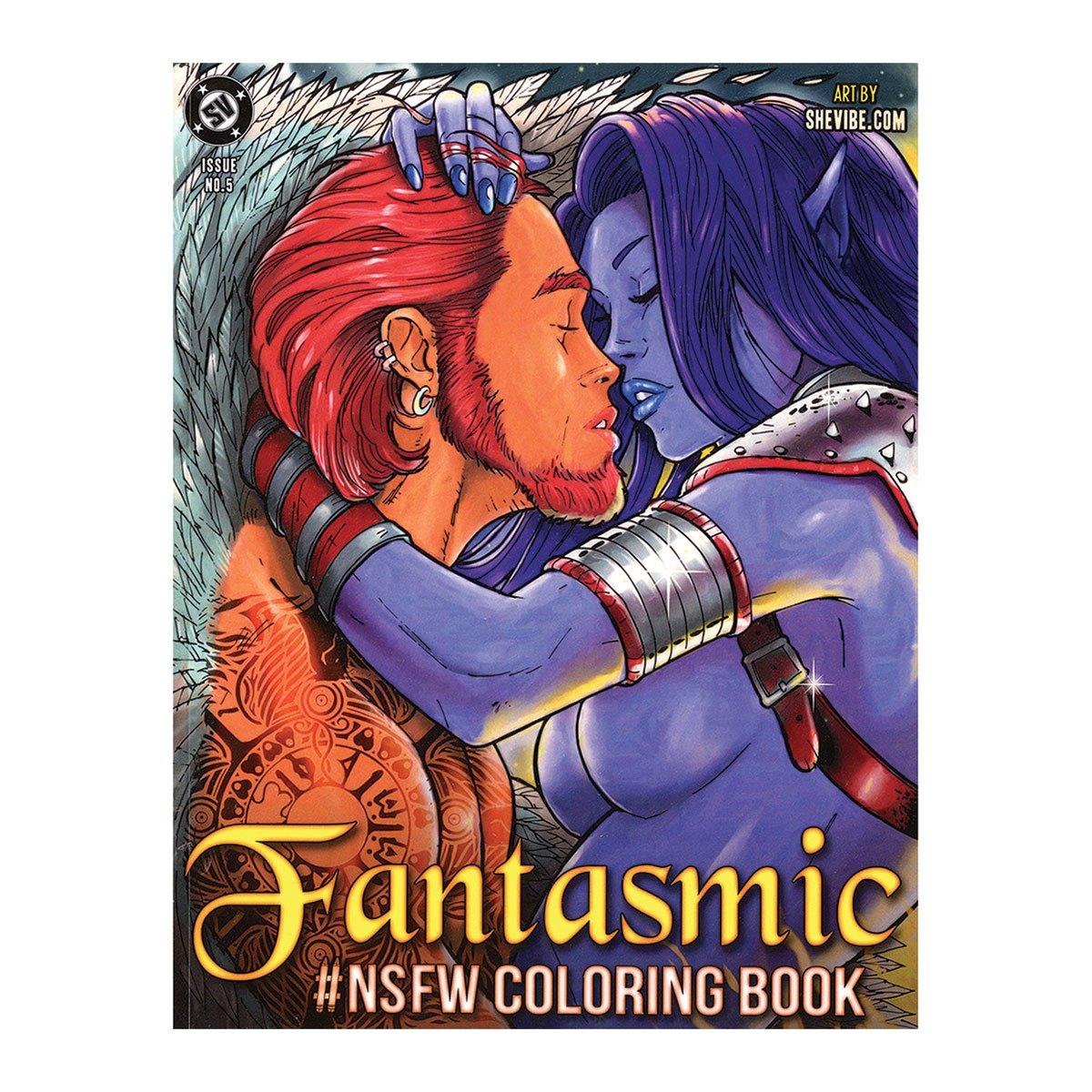 Nsfw Fantasmic Coloring Book Vol 5 Alex Kotkin Thor