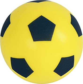 Yellow Sponge Football - Size 5 - Quality Foam by Mookie: Amazon ...