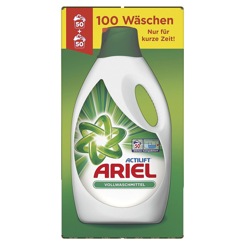 Ariel Colorwaschmittel Flüssig, 2 x 2,75 L, 1er Pack (2 x