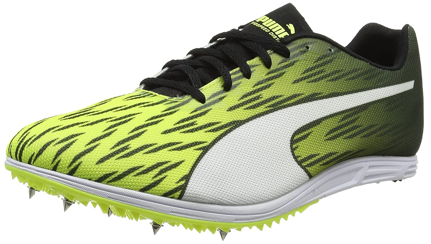 Puma Evospeed Distance 7, Zapatillas de Atletismo para Hombre, Amarillo (Safety Yellow Black White), 40.5 EU: Amazon.es: Zapatos y complementos