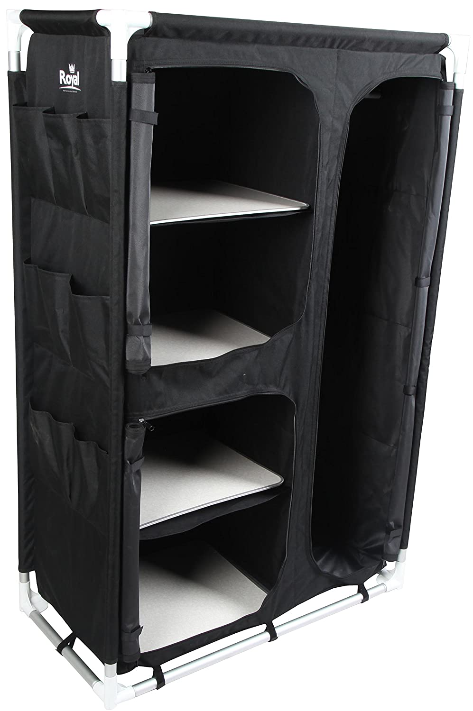 Royal 355442 Wardrobe, Black, Medium
