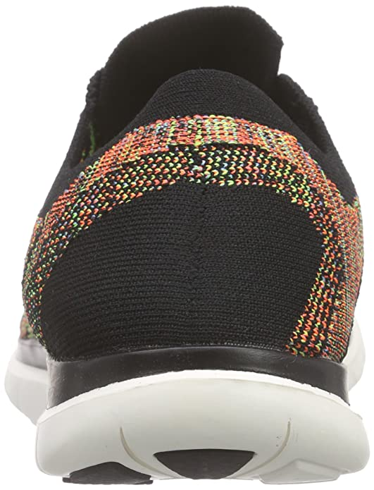 super popular c7a7c 456a8 Amazon.com   NIKE Men s Free 4.0 Flyknit Running Shoes 717075-001 Black  White   Road Running