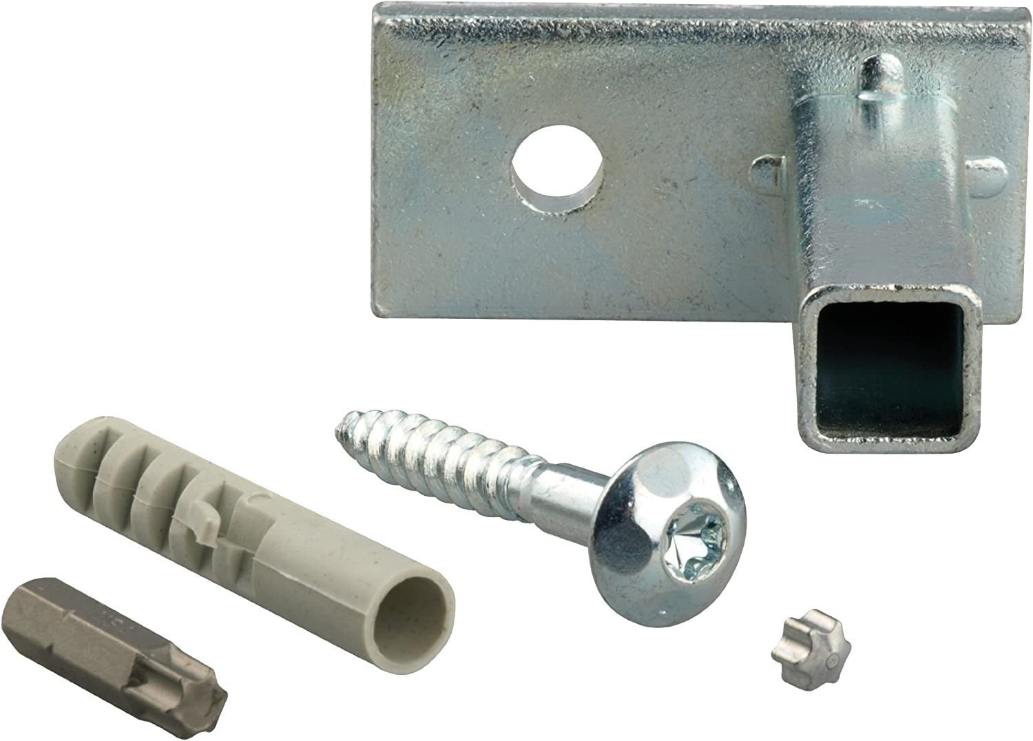 GAH-Alberts 554361 Mounting Set for Attaching Window Grilles in Window Reveals 1 Unit//Blue-Galvanised